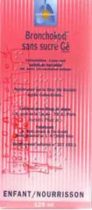 Bronchokod sans sucre enfants 2%, solution buvable édulcorée à la saccharine sodique