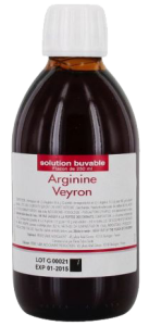 Arginine veyron, solution buvable en flacon