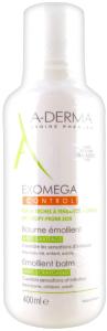 Aderma exomega control baume émollient 400 ml