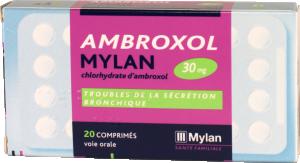 Ambroxol mylan 30 mg, comprimé