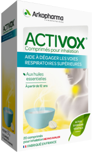 Arkopharma activox comprimés pour inhalation 20 comprimés