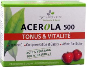 Acerola 500 tonus & vitalité