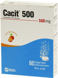 Cacit 500 mg, comprimé effervescent