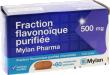 Fraction flavonoïque jambes lourdes