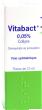Vitabact 0,05%, collyre
