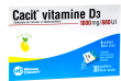 Cacit vitamine d3 1000 mg/880 ui, granulés effervescents pour solution buvable en sachet