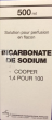 Bicarbonate de sodium cooper 1,4%, solution pour perfusion en flacon