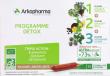 ARKOFLUIDE BIO ULTRAEXTRACT  Coffret programme détox
