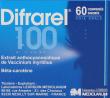 Difrarel 100 mg, comprimé enrobé